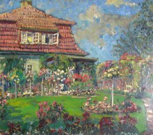 Hager Haus mit Garten