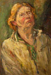 Selbstportrait Marie Hager