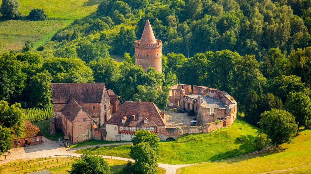 Frauen Burg Stargard
